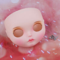 "Doll Faceplate Face Shell for 12"" RBL Neo Blythe Girl Dolls Custom DIY Accs"