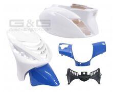 Kit carénage capot parties de carénage blanc bleu POUR PIAGGIO ZIP 2 SP LC