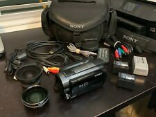 Sony Hdr-Xr520V 240gb Camcorder w/ many accessories
