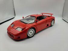 1:18 Bburago 1991 Bugatti EB 110 Red