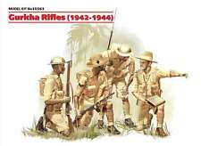 1/35 ICM 35563 -.Gurkha Rifles 1942-1944 Plastic Model Kit 4 Figures