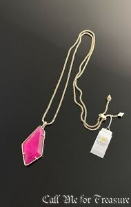 Kendra Scott Lilith gold tone long necklace NWT