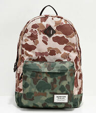 BURTON Kettle Backpack Desert Camo Tan Green 20L w Laptop Compartment Snowboards