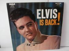 """elvis presley""""elvis is back!""""lp12""""fr.rca:740633.T.label:orange du:01/ 1970."""