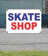 2x3 SKATE SHOP Red White & Blue Banner Sign NEW Discount Size & Price