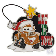 Disney Parks Cars Santa Mater Let It Snow Pin