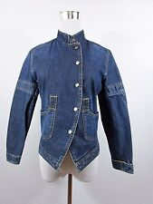 BURBERRY authentique Girls Casual Smart broderie Denim Jeans Veste 14 ans BC50