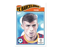 Topps UCL Living Set Card #243 - Pedri Rookie Card RC FC Barcelona Barca