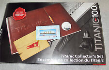 2012 CANADA TITANIC SET  25 - 50 CENTS COIN, STAMPS WHITE STAR STOCK CERTIFICATE