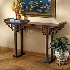 Oriental Ming Replica 17th Century Solid Hardwood Asian Console Sofa Table NEW