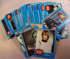 1977 Topps Star Wars 1st Series 1 Complete 66 Blue Card Set Ex+
