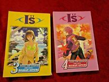 "Lot of Two I""s Manga Vols. 3-4 Masakazu Katsura"