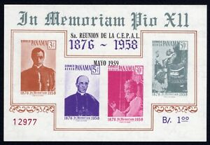 Panama 1959 block of stamps Mi#Bl.7 MNH CV=30€