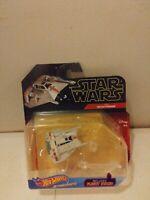 Disney Hot Wheels Star Wars Starships Rebel Snowspeeder Die Cast NIP with stand
