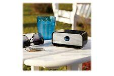 Brookstone big blue live mini portable Bluetooth speaker