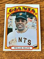1972 Topps #49 Willie Mays