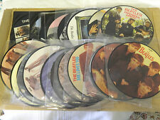 THE BEATLES 20th ANNIVERSARY PICTURE DISCS    SET OF 22