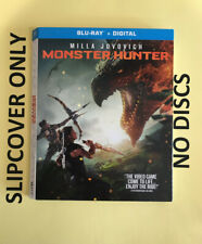 Monster Hunter (2020) - Blu-ray Slipcover ONLY - NO DISCS