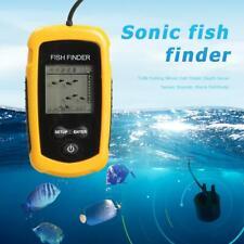 TL88 100m Tragbar Echolot Sonar Sensor LCD Alarm Fischfinder Fischortungsgerät