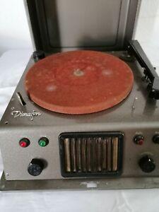 Vintage Dimafon Schallplatten Aufnahme Gerät von Blech Assmann Bad Homburg
