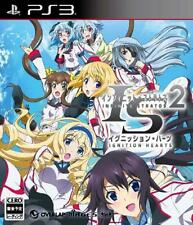 PS3 IS Infinite Stratos 2 Ignition Hearts Japan Import Japanese Game