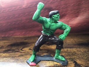 Vintage MARX 1967 Marvel 5'' Incredible Hulk Figure Nice Paint Job Collectible
