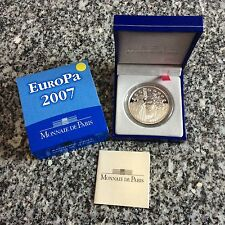 Pièce de 1 € 1/2  en argent - FRANCE - 2007 - EUROPE 2007