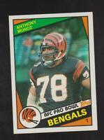 1984 Topps #45 Anthony Munoz card, Cincinnati Bengals HOF