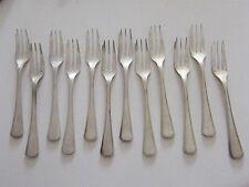 Fourchettes à Gâteau Christofle América en Argent Plaqué Silver Silber 16,5 cm