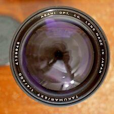 Pentax 6X7 400mm F/4 Takumar Lens