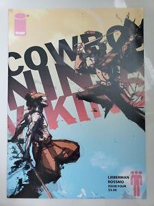 COWBOY NINJA VIKING #4 (2010) IMAGE COMICS 1ST PRINT! RED HOT! CHRIS PRATT MOVIE