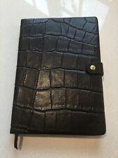 Mulberry dark brown congo leather notebook, unused!
