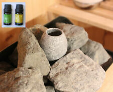 More details for soapstone sauna heater aroma oil diffuser, from  finland,no power needed,+2 oils
