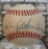 Darryl Strawberry signed baseball