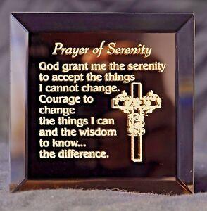 A Gift of Inspiration - A Serenity Prayer Keepsake Magnet