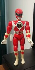 "Vintage Bandai 1994 Mighty Morphin Power Rangers 8"" Action Figure Red Ranger"