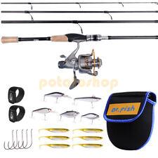 Baitfeeder Fishing Rod & Reel Combo 11Bb 5.1:1 Hooks Saltwater Sea Fishing Bass