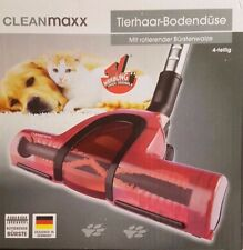 Cleanmaxx Universal Tierhaar Bodendüse mit rotierender Bürstenwalze Düse Walze