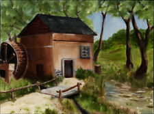 The Old Mill - Plein air at the Rancho de las Golandrinas near Santa Fe