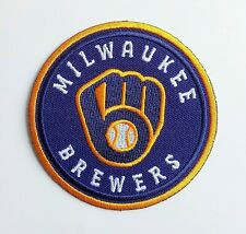 "Milwaukee Brewers Embroidered 2.9"" Iron On Patch"