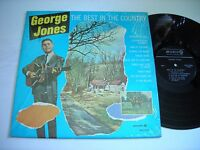 SHRINK George Jones The Best in the Country 1969 Stereo LP VG++