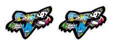Racing Stickerbomb Sticker Decal Motocross Dirt Bike Motorcycle Honda Helmet V2