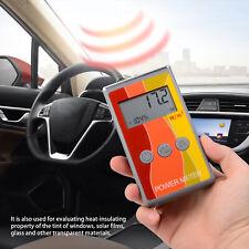 Portable Solar Film Tester Window Film Tint Ir Rejection Tester Detector Tools