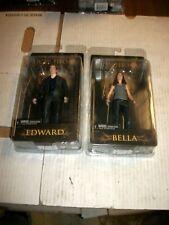 NECA Twilight New Moon EDWARD & BELLA Figure Set NEW