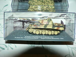 lot de 9 chars et véhicules militaires,collection panzer,39/45,altaya,en 1/72