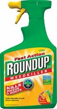 Roundup Fast Action Weed Killer Spray Weed Control Ready to Use 1L Spray Bottle