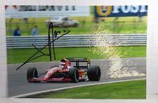 PHOTO c13x18 signed by Jean Alesi FERRARI 643 #28 F1 1991 BRITISH GP SILVERSTONE