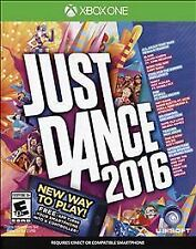 Just Dance 2016 GAME Microsoft Xbox One 1 XB XB1 XB3 2K16 16