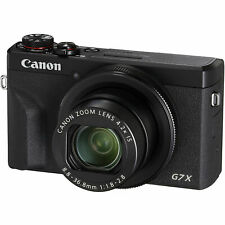 New Canon PowerShot G7 X Mark III Digital Camera Black