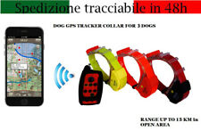 COLLARE GPS CANE DA CACCIA RICERCA HUNTER 3 BEEPER PER FERMA FINO 15 KM NO SIM